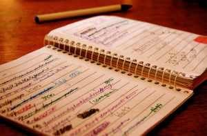 notebook-with-lists