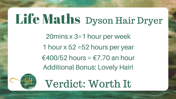 The value of the Dyson Hair Dryer