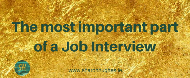 Whats the most important element of the Job Interview?
