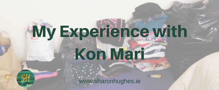 My experience using Kon Mari to declutter